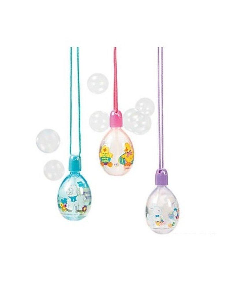 Jeannie's Ent Easter Egg Bubble Necklace