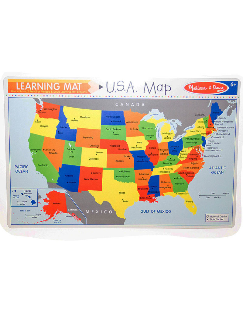 Melissa and Doug U.S.A. Write-a-Mat