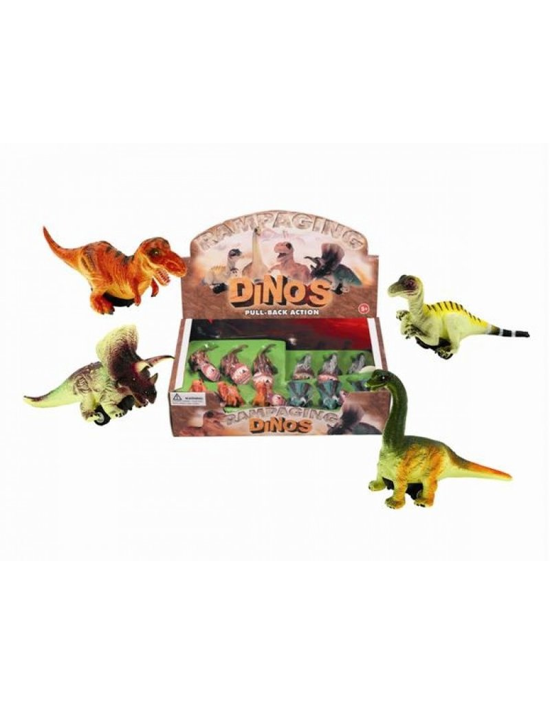Jeannie's Ent Pull Back Dinos