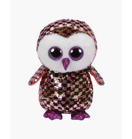 TY Checks - owl sequin sm