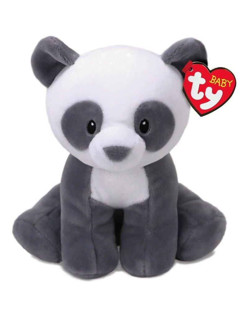 TY MITTENS - grey panda med