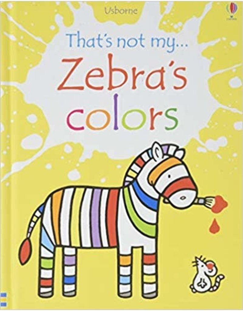 Educational Dev That's Not My Zebra's Colors