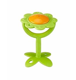 InnoBaby Teethin'Smart Flower Rattle Green