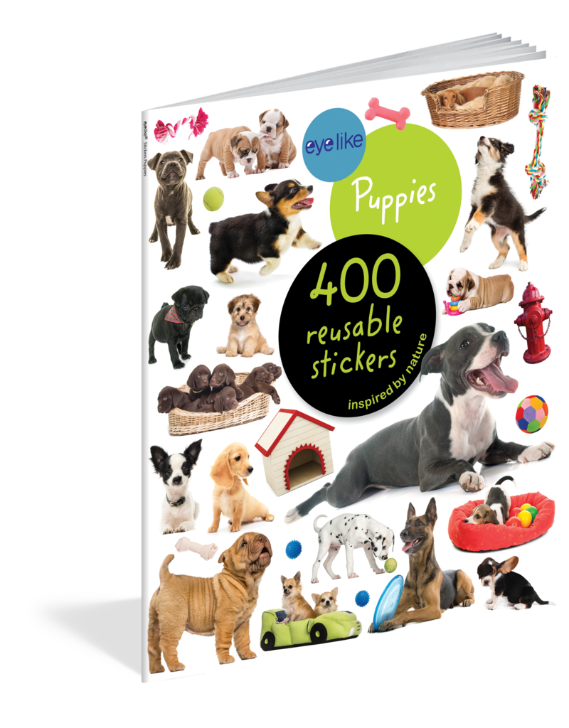 Workman Pub EyeLike Puppies Stickers