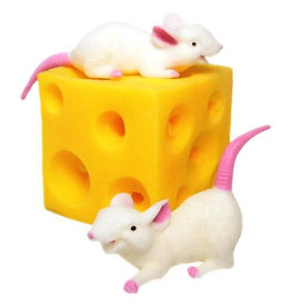 Toysmith Stretchy Mice & Cheese
