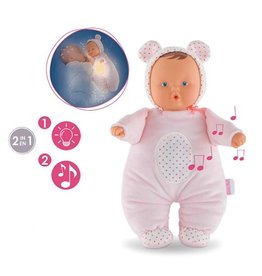 Corolle Babibear Nightlight Pink