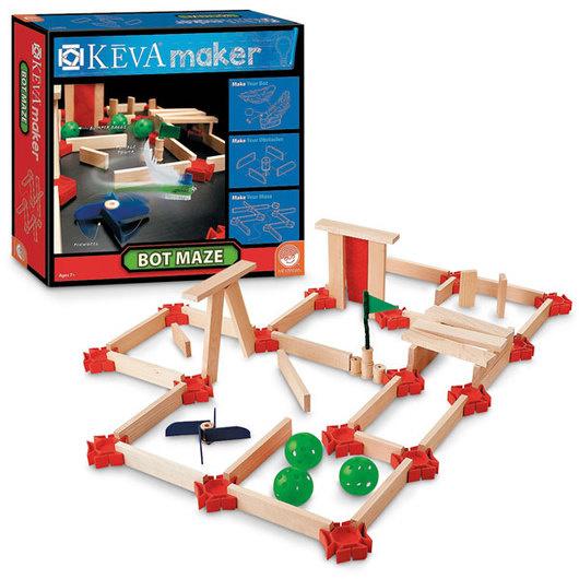 Keva Maze Bots