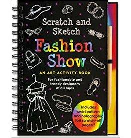 Peter Pauper Scratch & Sketch Fashion