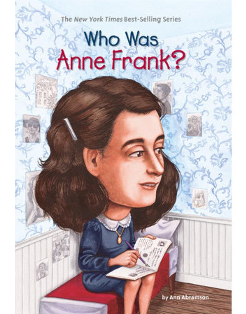 Penguin Randon House Who Was Anne Frank?