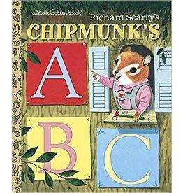 Random House R Scarry's Chipmunk ABC