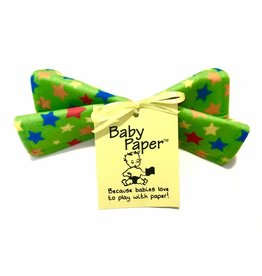 Wise Choice Green Stars Baby Paper