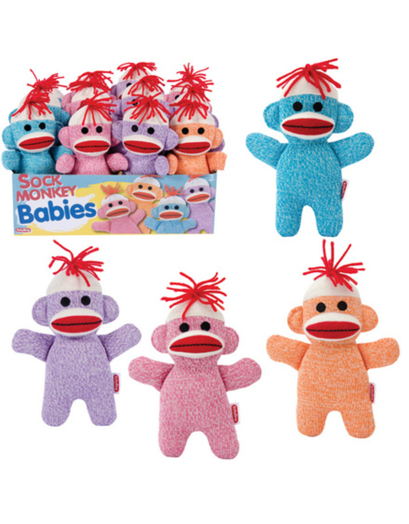 Schylling Sock Monkey Baby - Color