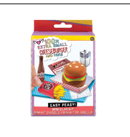 Fashion Angels 100% Extra Small Burger & Fries Mini Clay Kit  12351