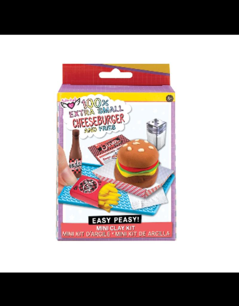 Fashion Angels 100% Extra Small Burger & Fries Mini Clay Kit  12351