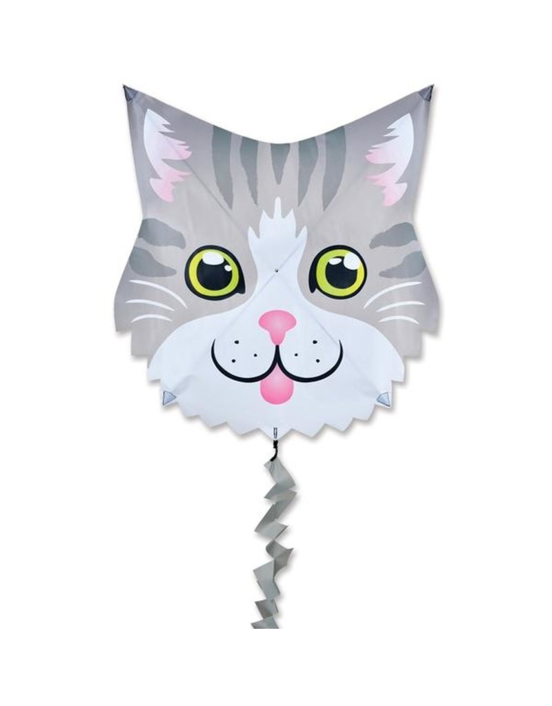 Premier Kites Gray Cat Kite
