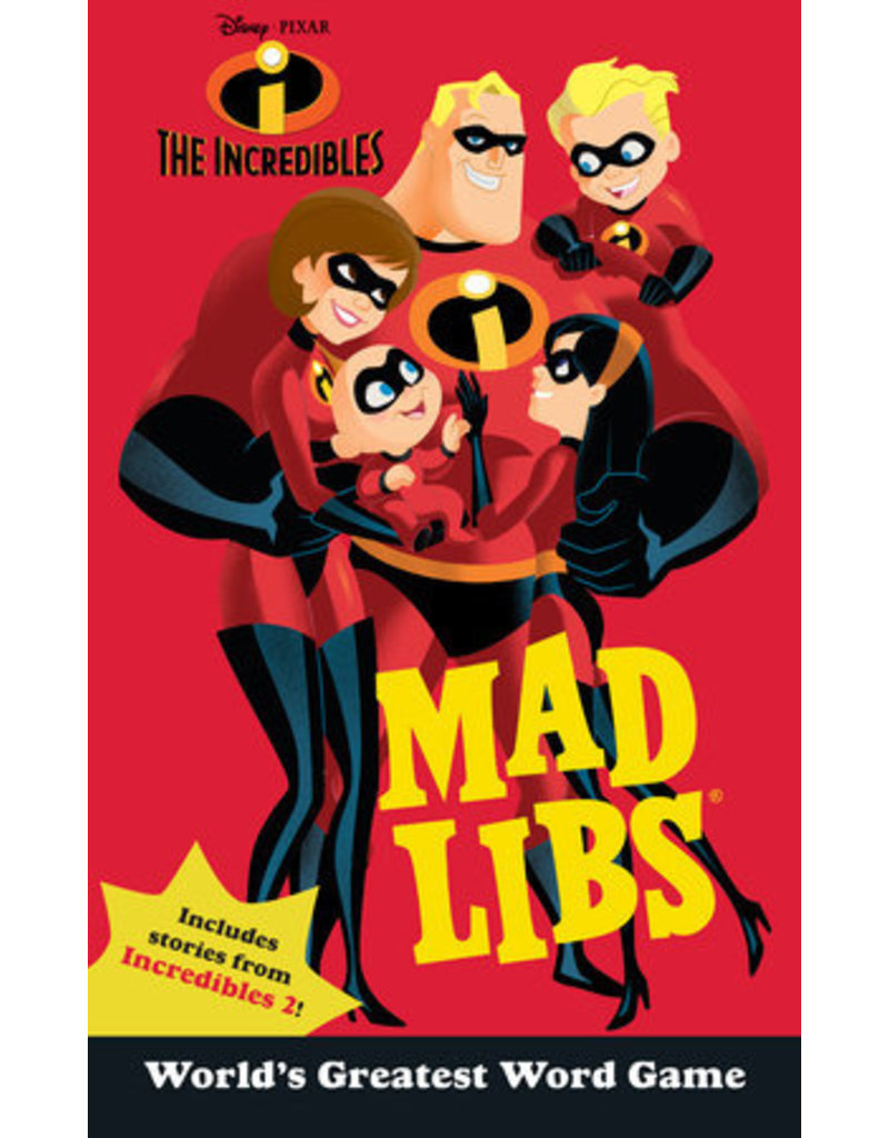 Penguin The Incredibles Mad Libs