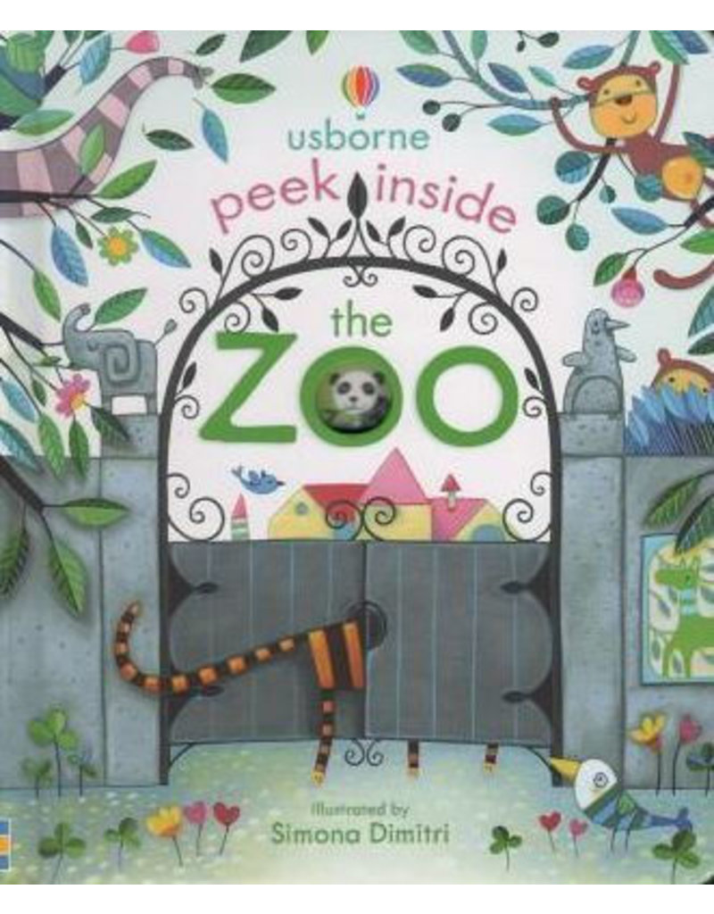 Usborne Peek Inside the Zoo