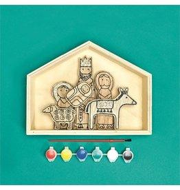 Two's Company DIY Nativity Set