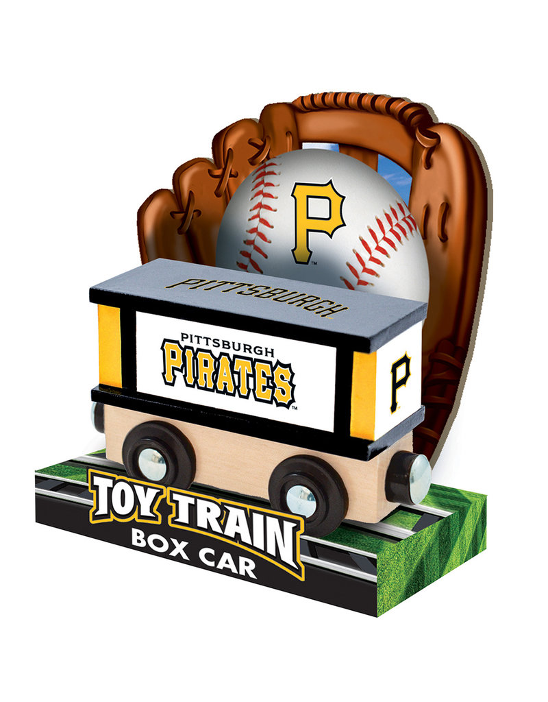 Masterpieces Puzzles Pittsburgh Pirate Box Car