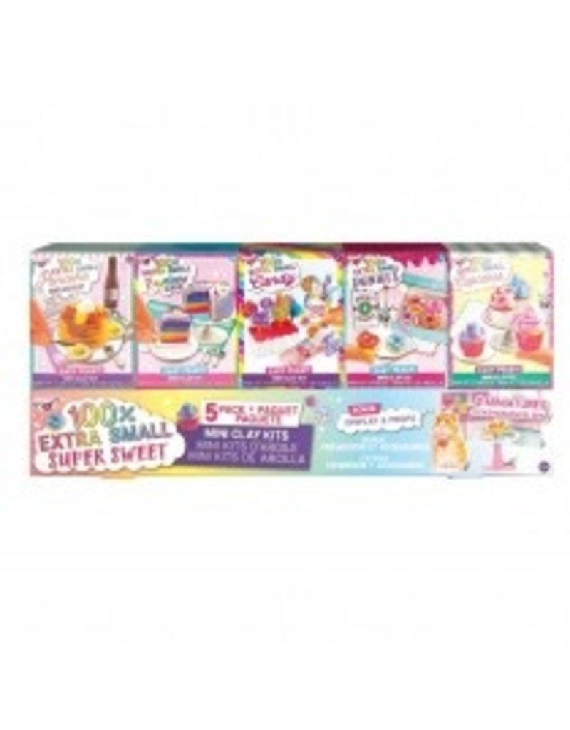 Fashion Angels 100% XS Sweet Mini Clay Kits - 5 pack