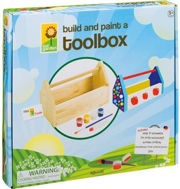 Toysmith BUILD AND PAINT A TOOLBOX