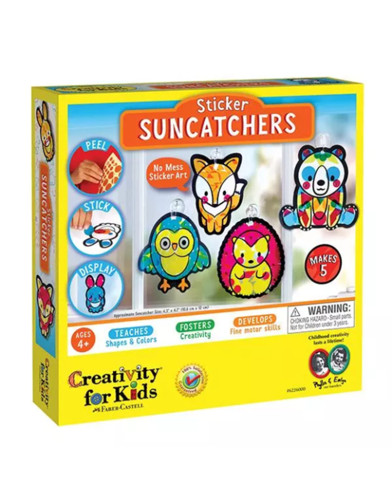 Faber-Castell Sticker Suncatchers