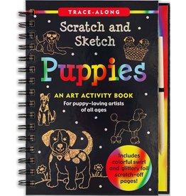 Peter Pauper Scratch and Sketch Puppies