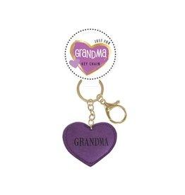 DM Merchandising Grandma Heart Keychain