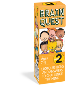 Workman Pub Brain Quest -2nd Grade
