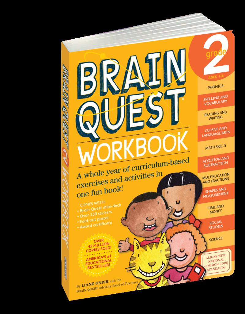 Workman Pub Brain Quest Workbook Grade 2