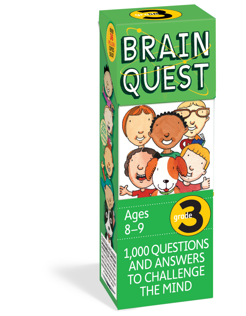 Workman Pub Brain Quest -3rd Grade