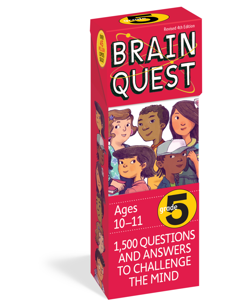 Workman Pub Brain Quest -5th Grade