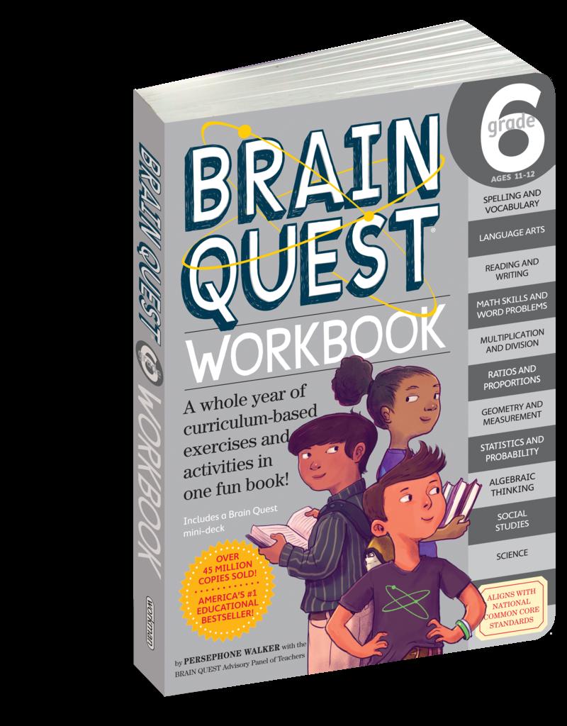 Workman Pub Brain Quest Workbook Grade 6