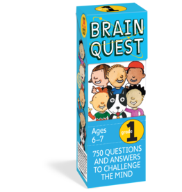 Workman Pub Brain Quest -1st Grade