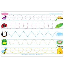 Ashley Productions Prewriting/Shapes Learning Mat