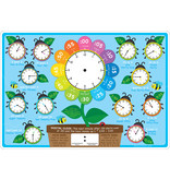 Ashley Productions Telling Time Learning Mat