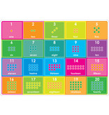 Ashley Productions ABC/Numbers 1-20 Learning Mat