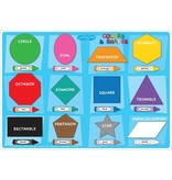 Ashley Productions Colors/Shapes Learning Mat