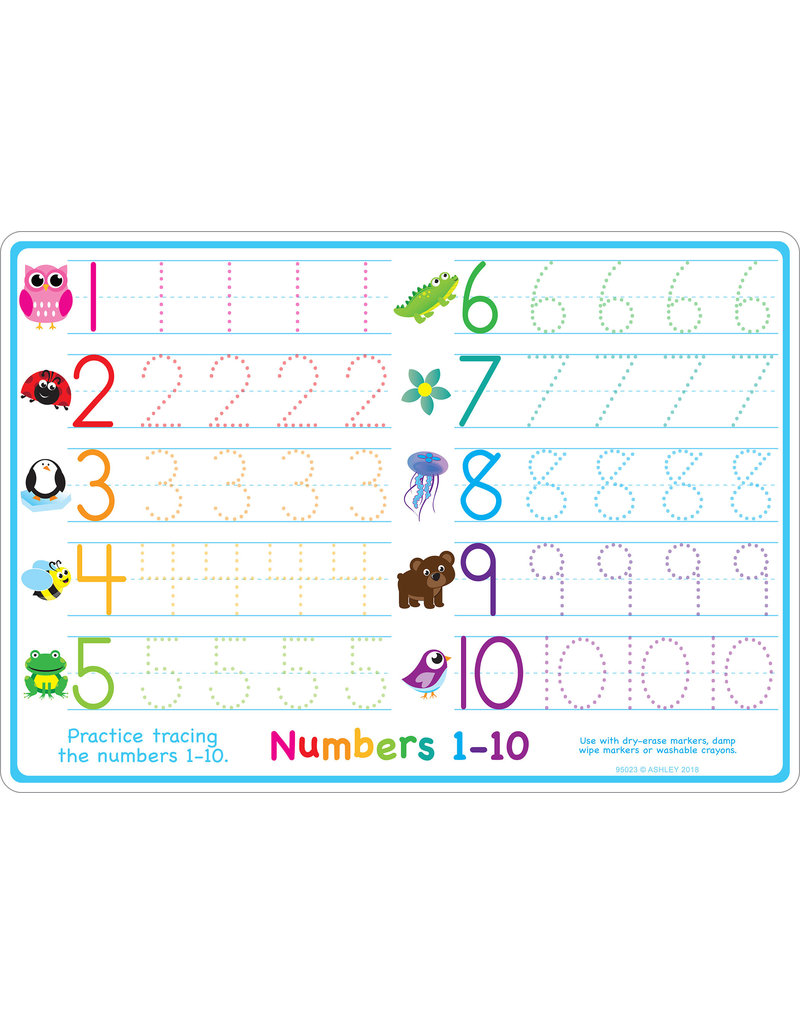 Ashley Productions Numbers 1-10 Learning Mat