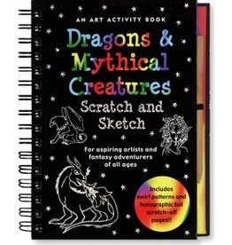 Peter Pauper Scratch & Sketch Mythical Creatures