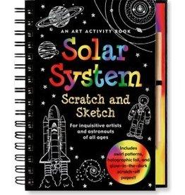 Peter Pauper Scratch & Sketch Solar System