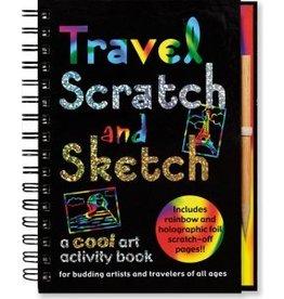 Peter Pauper Scratch & Sketch Travel