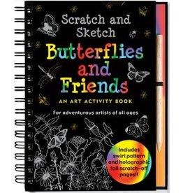 Peter Pauper Scratch & Sketch Butterflies