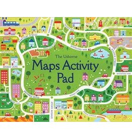 Usborne Map Activity Pad