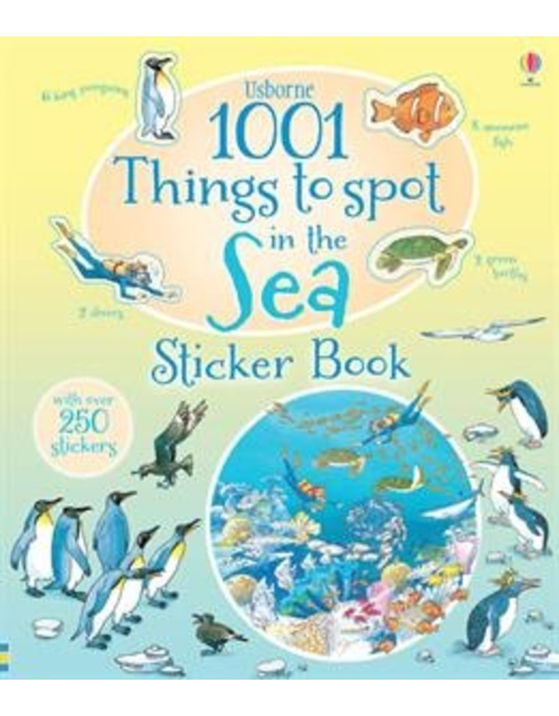 Usborne 1001 Things to Spot in the Sea Sticker