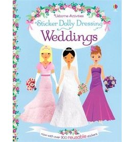 Usborne Sticker Dolly Dressing Weddings