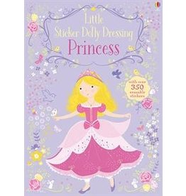 Usborne Little Sticker Dolly Dress Princesses