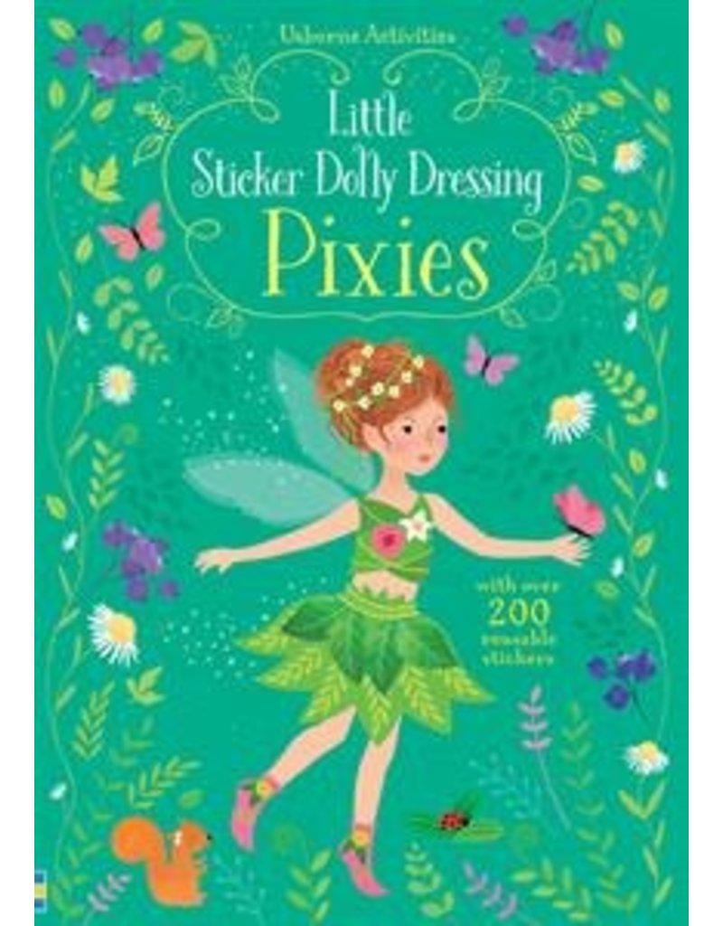 Usborne Little Sticker Dolly Dressing Pixies