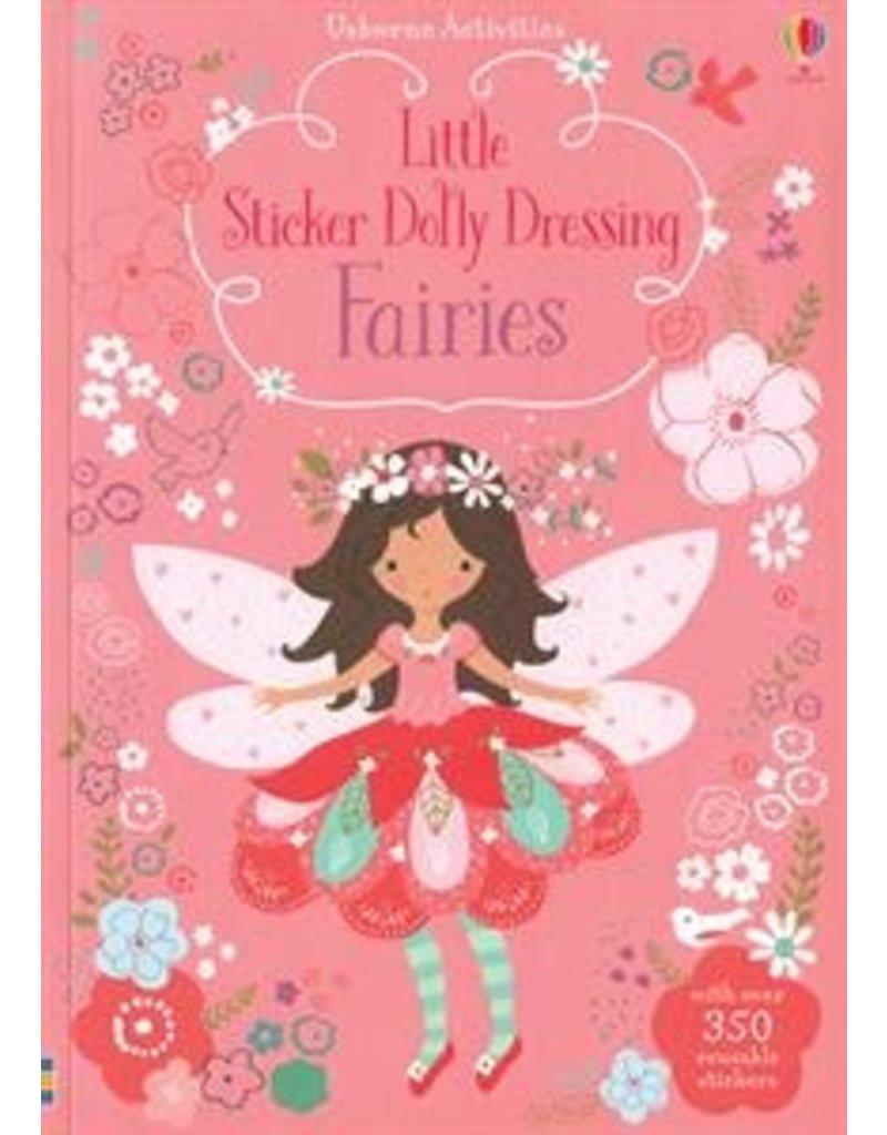 Usborne Little Sticker Dolly Dressing Fairies