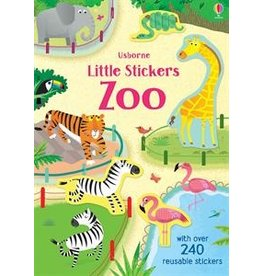 Usborne Little Stickers Zoo